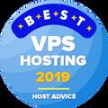 VPS ホスティングベスト10に入っている会社に贈られます