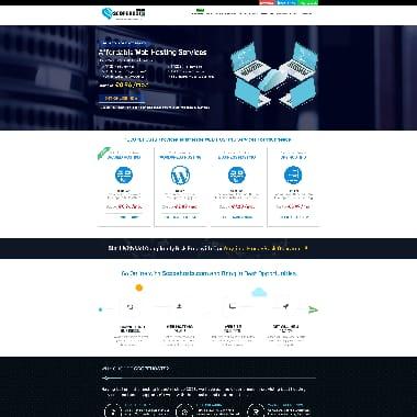 Scopehosts HomePage Screenshot
